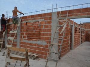 Obras foram retomadas no bairro Porto do Carro em São Pedro da Aldeia (Foto: Ascom São Pedro da Aldeia)