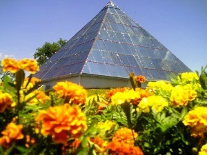 Pirâmide esotéria Ametista do Sul RS Nossa Terra (Foto: Prefeitura de Ametista do Sul/Divulgação)