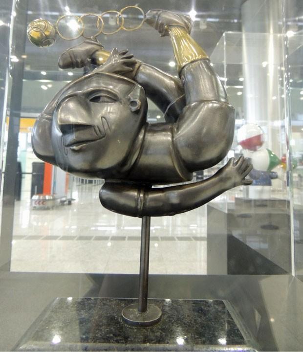 Obra de Inos Corradin, pintor e escultor ítalo-brasileiro (Foto: Divulgação)