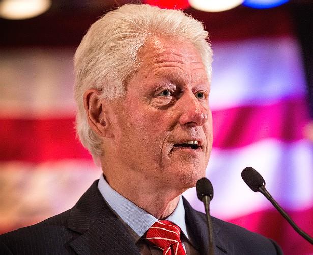 O ex-presidente dos EUA Bill Clinton têm dificuldades em diferenciar certos tons de verde e de vermelho. (Foto: Getty Images)