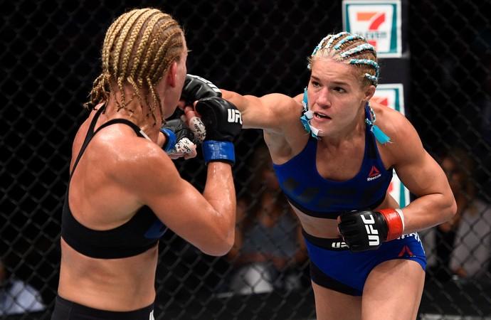 Felice Herrig x Justine Kish UFC Oklahoma (Foto: Getty Images)