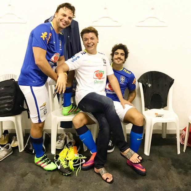 Jogo da amizade (Foto: Divulgação )