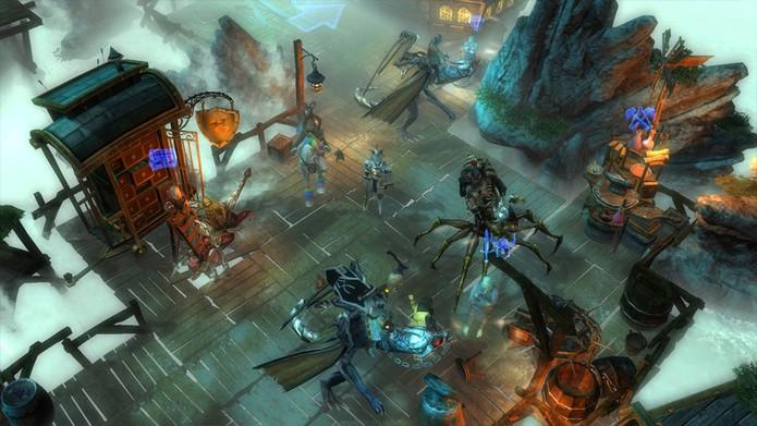 Drakensang é um MMORPG gratuito (Foto: Reprodução/TechTudo)