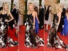 Sem calcinha? Heidi Klum usa transparência no Globo de Ouro