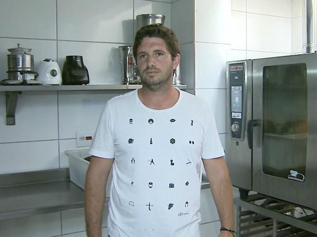 O empresário de Brodowski (SP) Bruno Lenis de Araújo (Foto: Reprodução/EPTV)