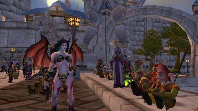 World of Warcraft redefiniu o gênero de MMORPG e se tornou um dos mais populares (Foto: Reprodução/OC Remix)