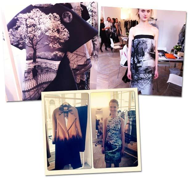 Mais peças de Mary Katrantzou, inverno 2014 (Foto: Reprodução/Instagram)