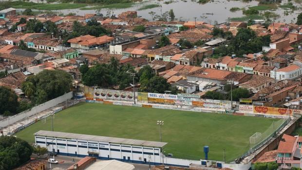 Imagem aérea do Zinho Oliveira (Foto: Evandro Corrêa)