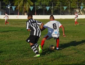 campeonato paraibano sub19, sub19, sub-19, botafogo-pb, santa cruz-pb (Foto: Edgley Lemos / GloboEsporte.com/pb)