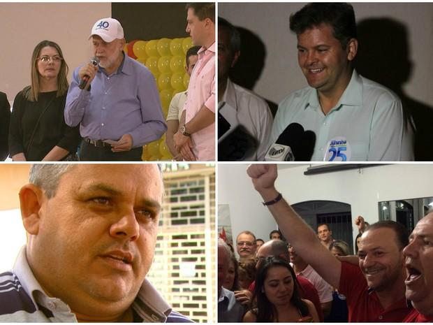 Ano político na região de São Carlos  (Foto: Reprodução/ EPTV)