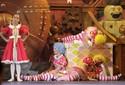 'É muito lindo', diz menina ao conhecer o Natal Luz