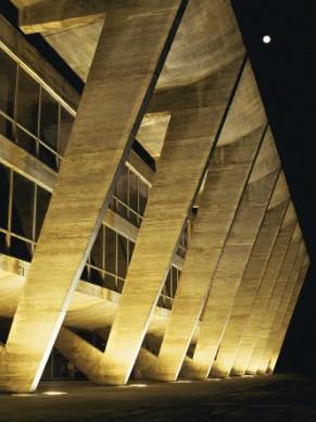 Museu de Arte Moderna do Rio de Janeiro, projetado por Oscar Niemeyer (Foto: Divulgação/Vicente de Mello)