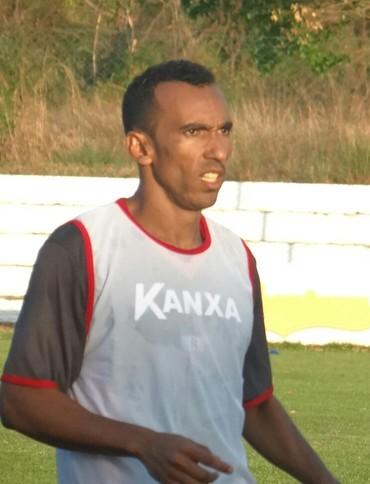 Eduardo, atacante River-PI (Foto: André Leal/GloboEsporte.com)