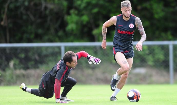 Nico López, atacante do Inter  (Foto: Ricardo Duarte / Inter, DVG)
