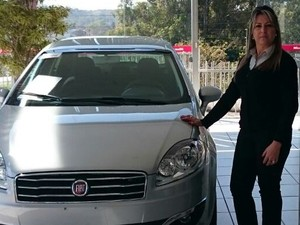 Nilce Araújo afirma clientes estão mais exigentes e comparam preços (Foto: Nilce Araújo/Arquivo pessoal)