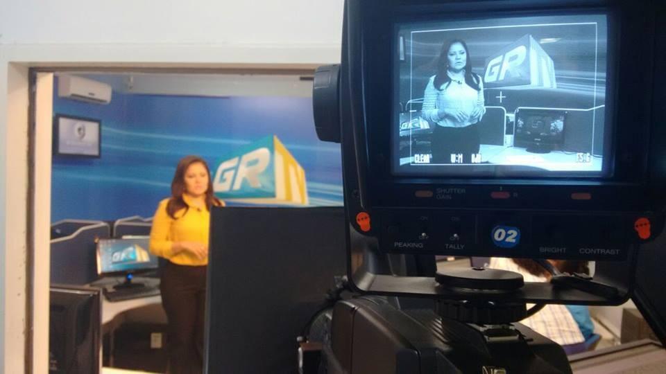 Auriana trabalha há 14 anos com jornalismo (Foto: Arquivo Pessoal)