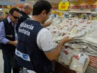 Mais de 1,5 tonelada de alimentos de Páscoa é apreendida no Rio