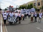 Caravana do interior do Ceará viaja a Fortaleza e protesta contra violência