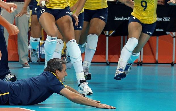 ze roberto volei brasil x russia londres 2012 olimpiadas (Foto:  JONNE RORIZ/AGÊNCIA ESTADO )