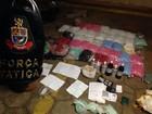 Polícia localiza 'laboratório' de drogas durante operação contra o tráfico