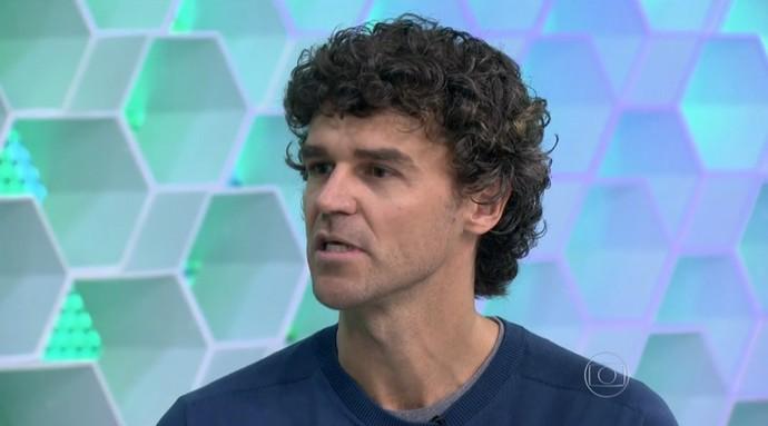Gustavo Kuerten no Esporte Espetacular (Foto: Reprodução TV Globo)