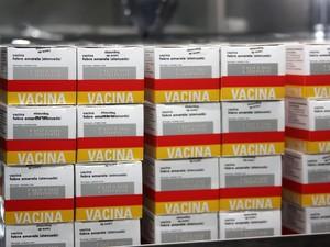 Petrópolis recebeu 75 mil doses de vacina (Foto: Divulgação / Ascom Petrópolis)