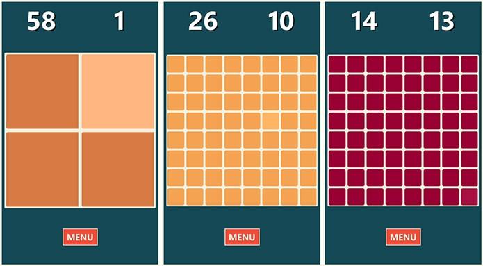 Square Me é um jogo simples mas divertido que exige bastante atenção do usuário (Foto: Divulgação/Windows Phone Store)