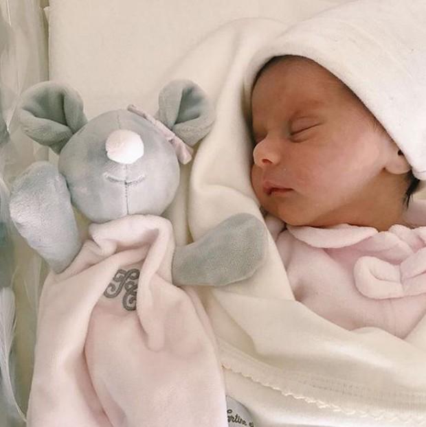 Maria Eduarda, filha de Carol Cabrino e Marquinhos (Foto: Reprodução/Instagram)