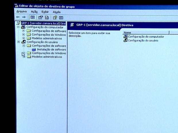Servidor da Câmara de Barretos, SP, foi invadido por hackers  (Foto: Cláudio Oliveira/EPTV)