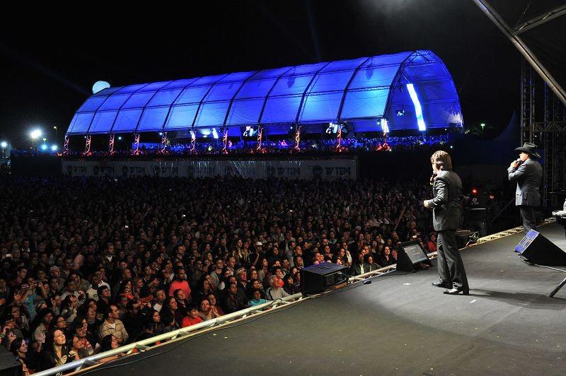 Show TV TEM 10 Anos em São José do Rio Preto (Foto: Elson Yabiku / TV TEM)