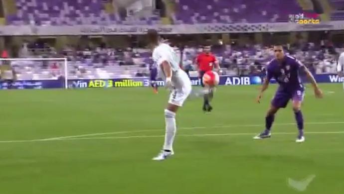 Gol contra Al Shabab Emirados Árabes