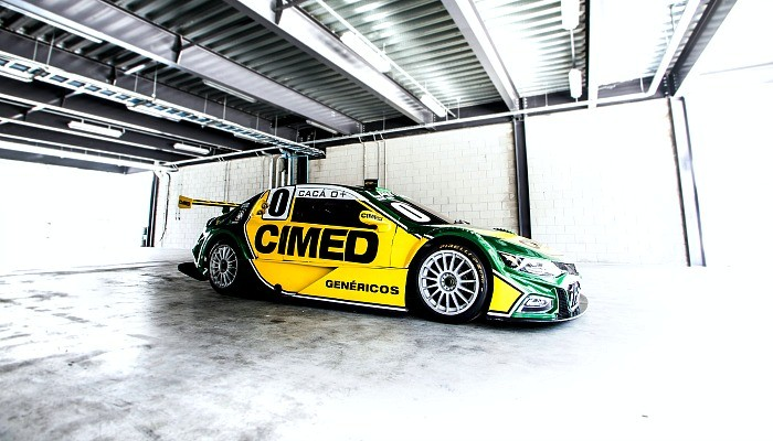 O novo carro de Cacá Bueno na Stock Car