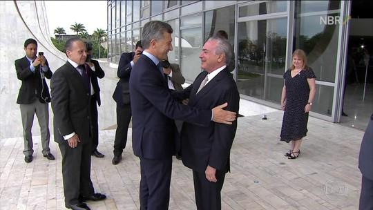 No Brasil, Macri defende negociações do Mercosul com outros blocos
