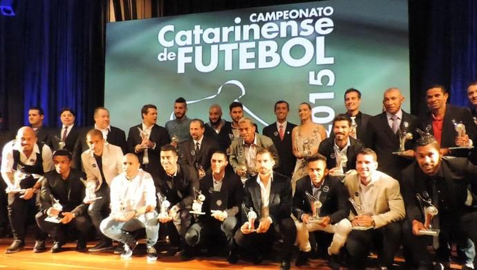 Top da Bola Catarinense 2015 (Foto: Diego Madruga)