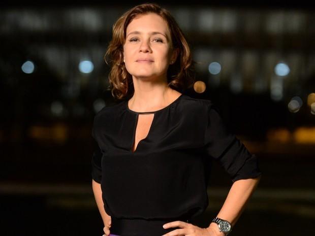 Recentemente, a atriz participou das gravações da minissérie 'Felizes para Sempre', que vai ao ar em janeiro (Foto: Zé Paulo Cardeal/Globo)