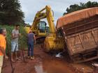 Cerca de 40 veículos estão presos em atoleiros no Araguaia, diz Defesa Civil