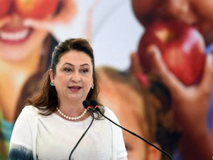 """Ministra afirma que cortes orçamentários devem ser administrados """"como dona de casa quando o marido perde o emprego, ou ela própria""""  (Foto: AFP)"""
