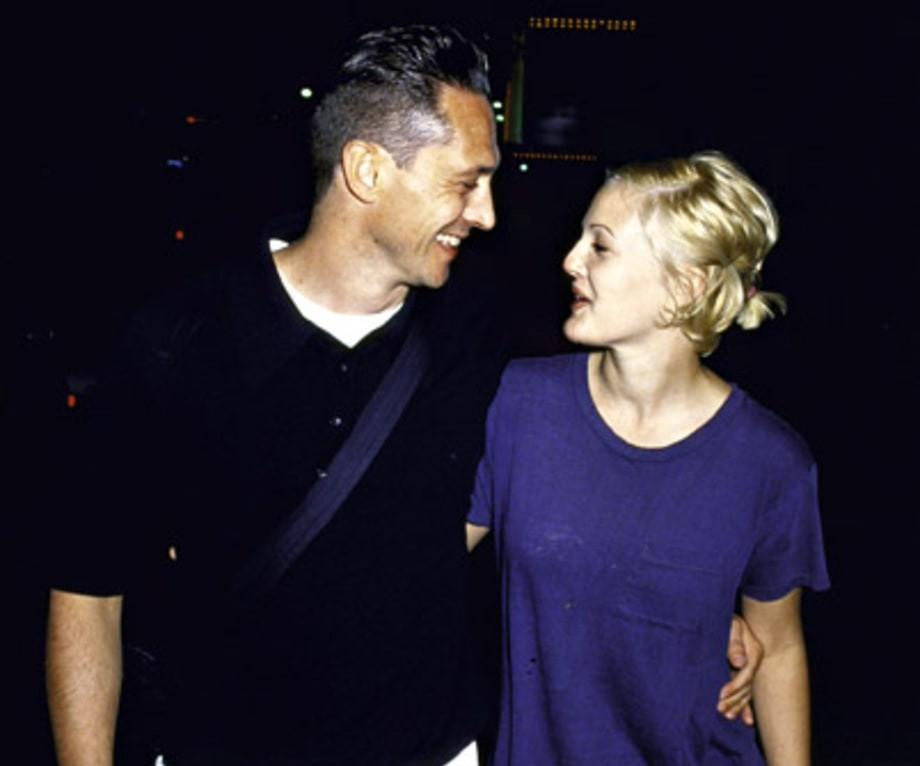 Drew Barrymore e Jeremy Thomas (Foto: Reprodução / Time Life Pictures)