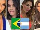Brasil X Argentina: quem vence na categoria 'mulher mais bonita'? Vote!