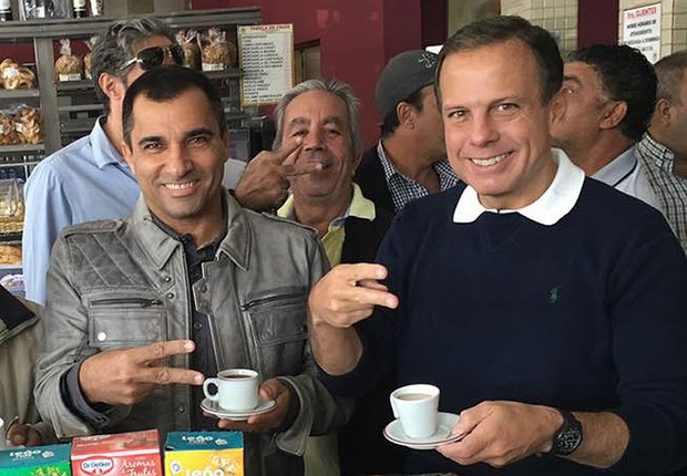 João Jorge foi eleito vereador na campanha que deu a prefeitura de São Paulo a João Doria, ambos do PSDB (Foto: Reprodução/Facebook)