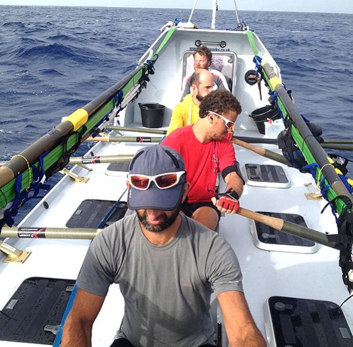 Caê, remador carioca que vai cruzar o Atlântico (Foto: Arquivo Pessoal)