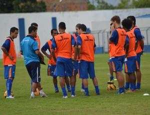Confiança poderá ter mudanças para o jogo contra o Globo-RN (Foto: Felipe Martins)