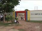 Obra inacabada em escola estadual revolta estudantes em Caxias