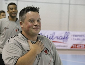 Mogi das Cruzes Jabá Futsal (Foto: Thiago Fidelix)