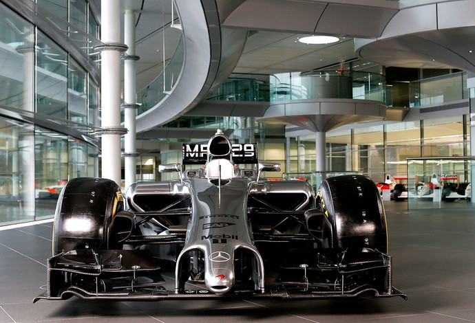 Lançamento carro mclaren 2014 (Foto: Reprodução / Site Oficial da McLaren)