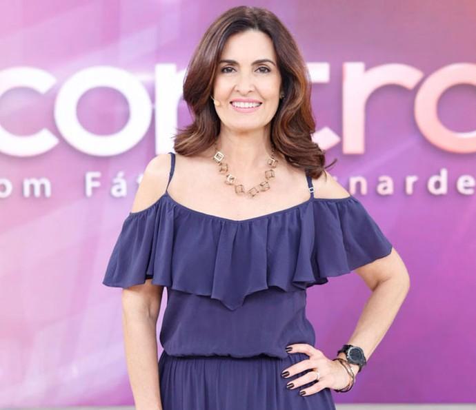 Fátima Bernardes (Foto: Gshow)