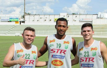 Rio Preto apresenta mais três para a disputa da Série A2 do Paulista