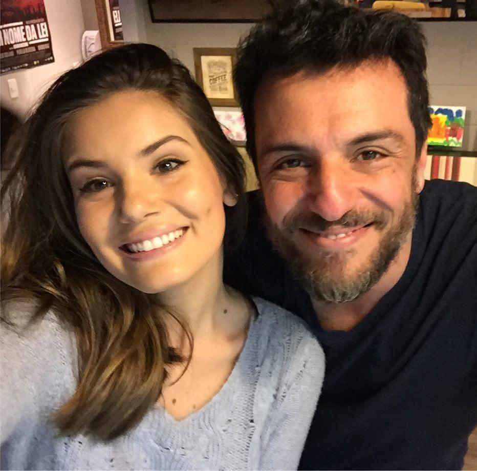 Rodrigo Lombardi e Camila Queiroz se reencontram (Foto: Instagram/Reprodução)