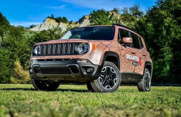 Jeep Renegade ganha versão do game Uncharted 4 (Foto: Divulgação)