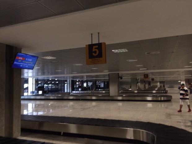 Novas áreas do Aeroporto Afonso Pena passam por um período de teste (Foto: Fernando Castro/ G1)